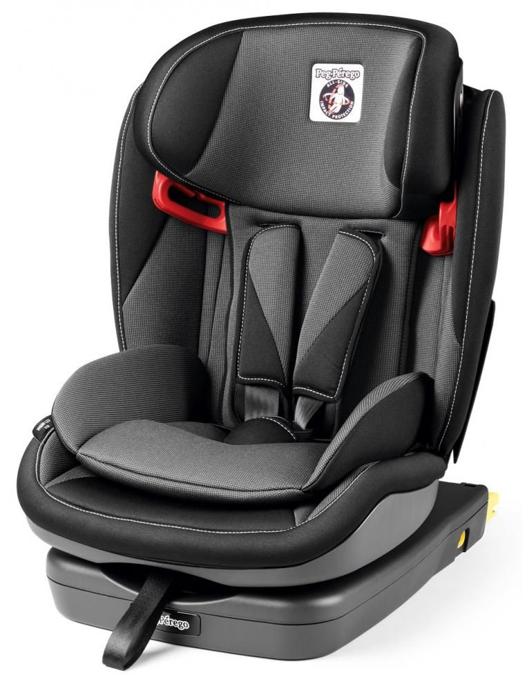 Автокресло Peg-Perego Viaggio 1-2-3 Via Crystal Black в Кокшетау