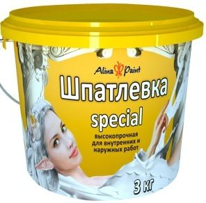 Шпатлевка Alina Paint Special, 1 кг